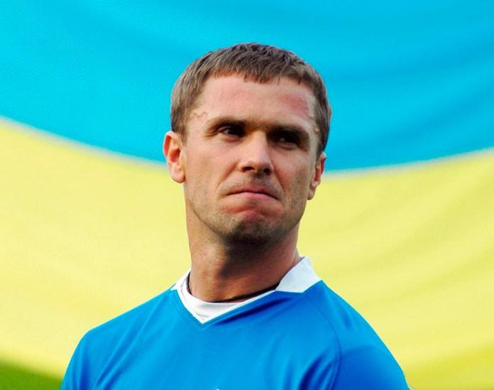 Сергей Ребров фото футболиста