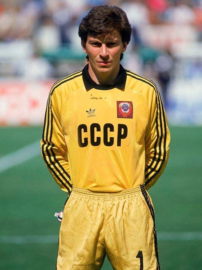 Ринат Дасаев - фото советского вратаря