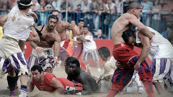 Современный флорентийский футбол