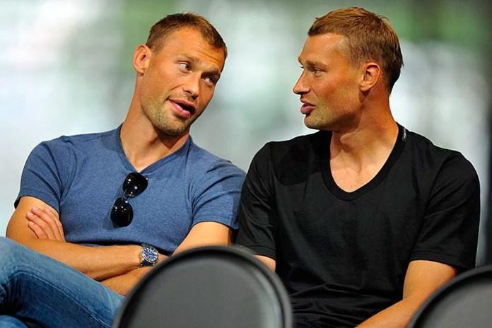 Братья близнецы Березуцкие футболисты