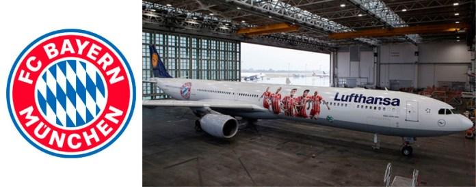 Самолет Баварии Мюнхен