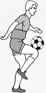 Ведение мяча бедром