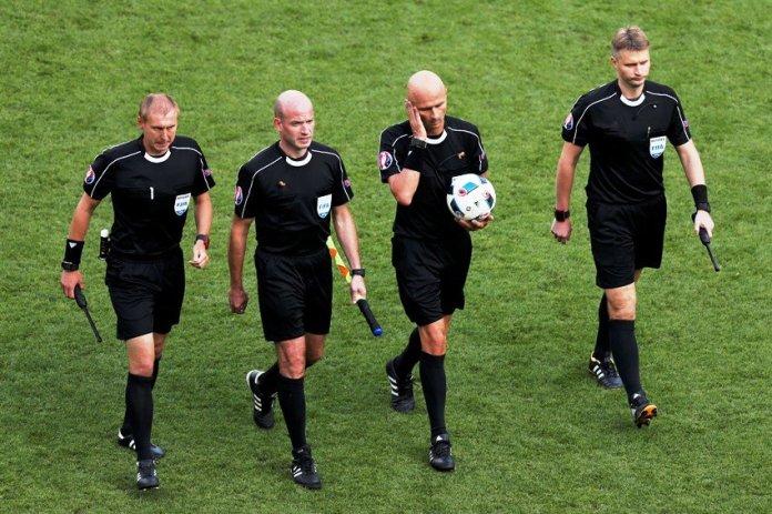 Футбольная бригада судей