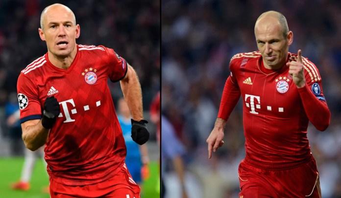 Арьен Роббен фото футболиста в Баварии Мюнхен