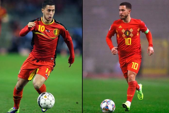 Эден Азар лучший бельгийский футболист