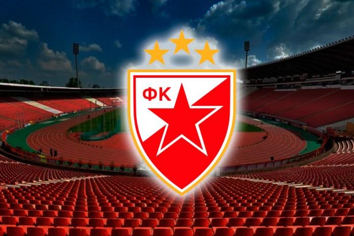 ФК Црвена Звезда эмблема клуба Сербии