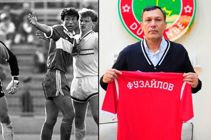 Хаким Фузайлов фото футболиста Таджикистана