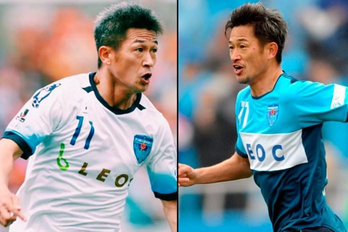 Кадзуйоси Миура самый возрастной футболист в мире