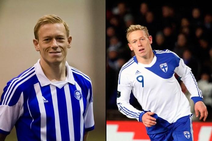 Микаэль Форсселл фото финского футболисты