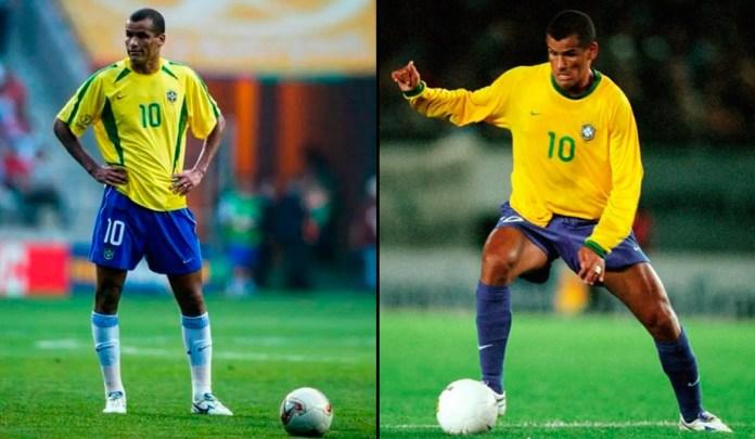 Ривалдо нападающий фото в сборной Бразилии