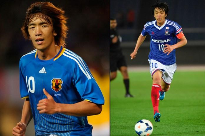Сюнсуке Накамура фото футболиста сборной Японии