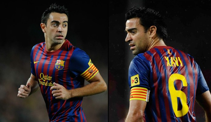 Хави - лучший полузащитник Барселоны фото