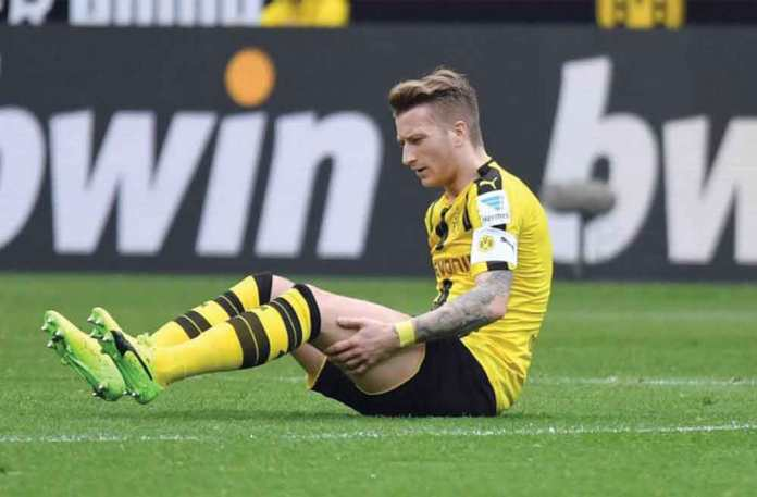 marco reus fall in field after injury