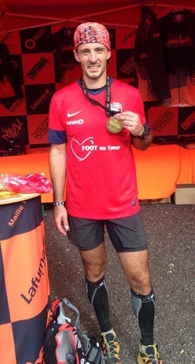 Sebastien Pampanay notre Runner de cœur