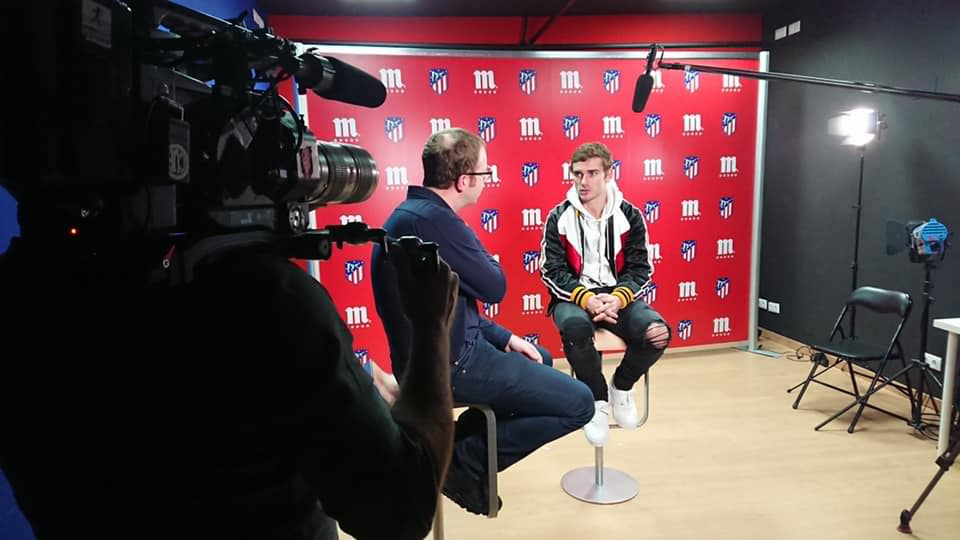 Interview d'Antoine Griezmann