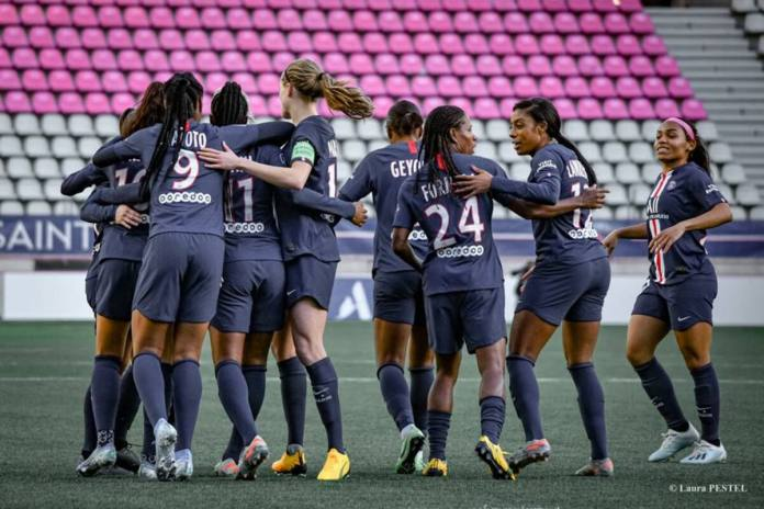 PSG-victoire-lyon-classique-D1 Arkema-foot feminin