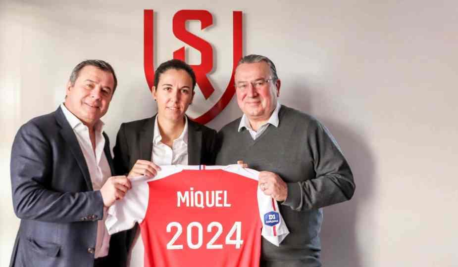 Amandine Miquel a prolongé son contrat avec Reims jusqu'en 2024