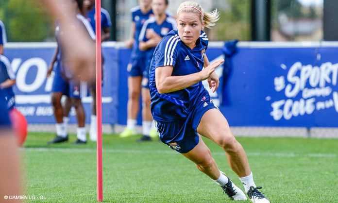Eugénie Le Sommer est dans la composition d'équipe de Lyon pour le déplacement au Paris FC