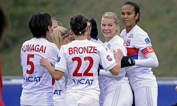 Quatre Lyonnaises sont dans le onze de la décennie dont Saki Kumagai, Wendie Renard et Ada Hegerberg