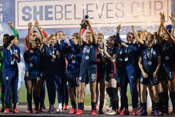 Les USA remportent la Shebelieves Cup 2021 après leur victoire face à l'Argentine