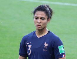 Valérie Gauvin a parlé de l'ambiance tendue en équipe de France.