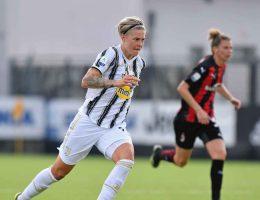 La Juventus a battu le Milan grâce à un but de Lina Hurtig en Serie A