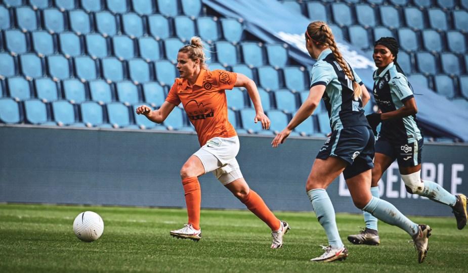 Montpellier a battu Le Havre 4-1 au Stade Océane ce 13 mars. ©Laura Pestel