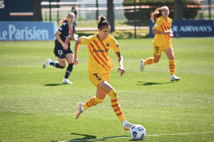 Jennifer Hermoso (Barcelone) blessée quelques jours avant le PSG