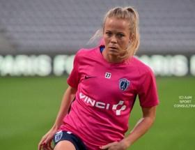 Julie Soyer joue depuis 19 ans en D1 Arkema.