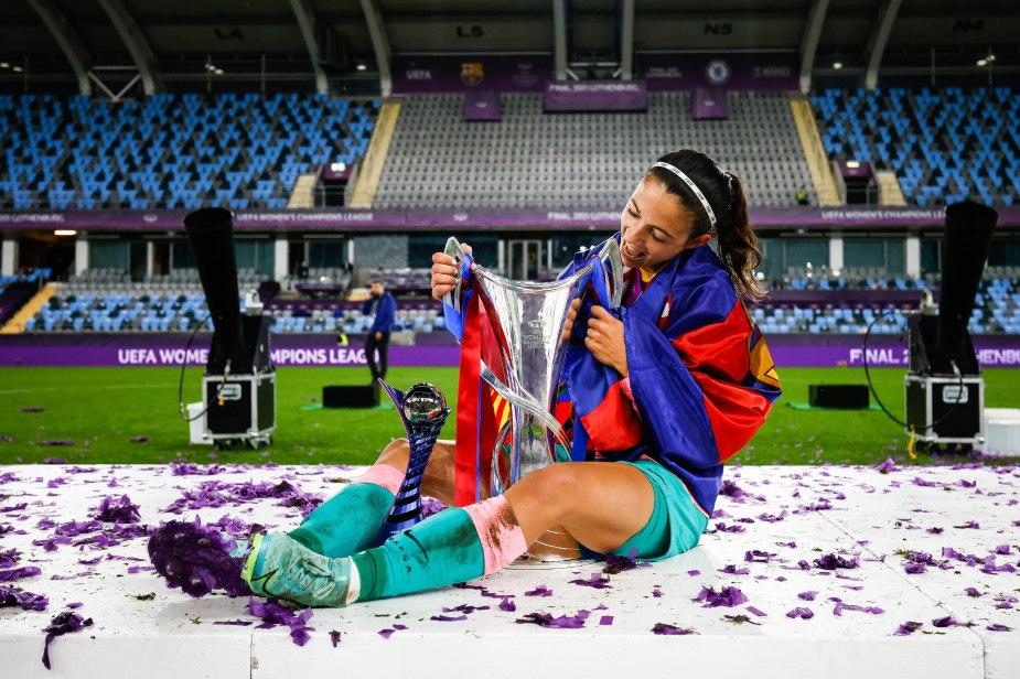 Bonmati, joueuse de la finale. ©FCBfemeni