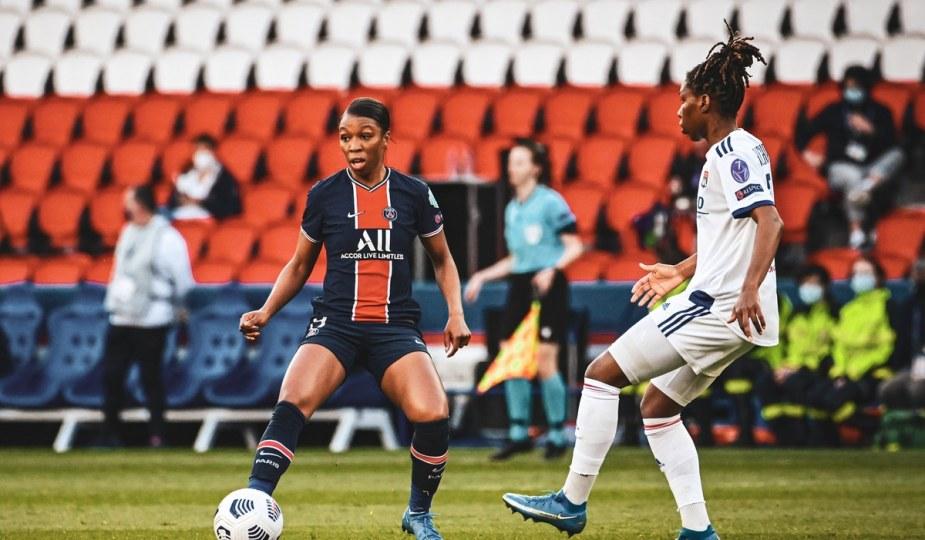 Grace Geyoro contre Lyon