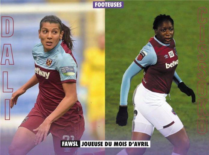 Les Françaises Kenza Dali et Hawa Cissoko nominées pour être joueuse du mois en Super League