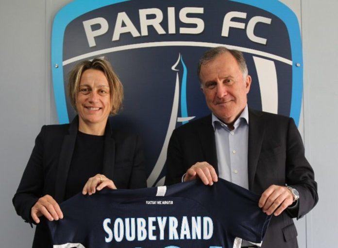Sandrine Soubeyrand prolonge au Paris FC jusqu'en 2024