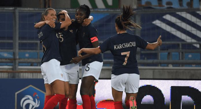 Kenza Dali donne la victoire à la France contre l'Allemagne