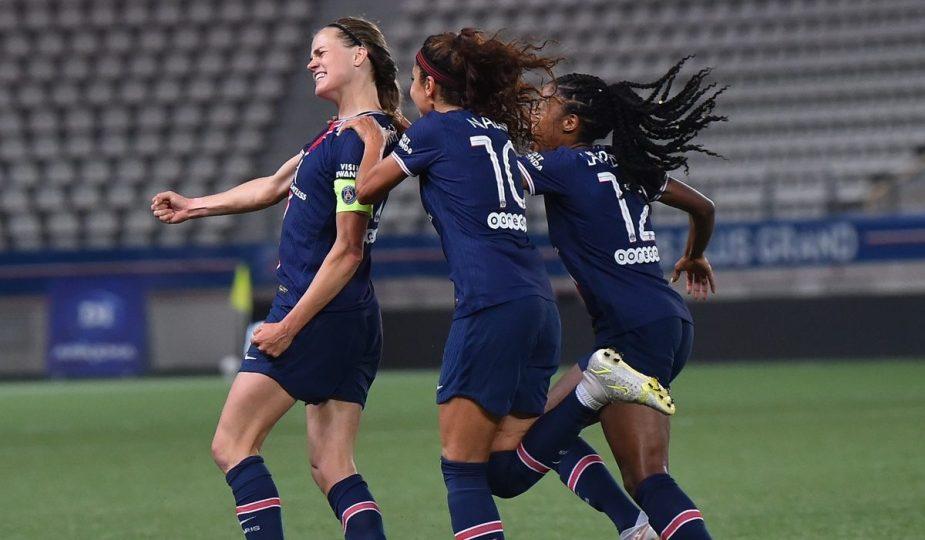 Le PSG champion de France après sa victoire face à Dijon