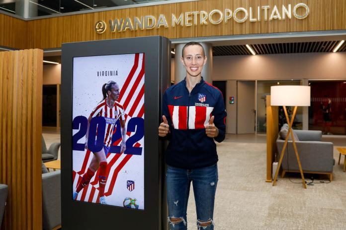 Virginia Torrecilla prolonge à l'Atlético