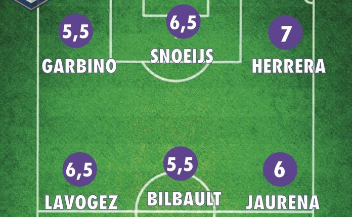Notes Bordeaux Wolfsburg