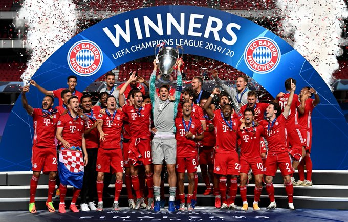Bayern Munich 6-Time Champions League Winners - FootGoal.pro