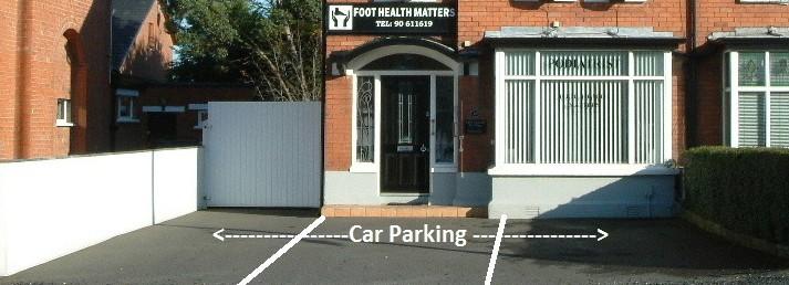 Easy & Convienent Parking !