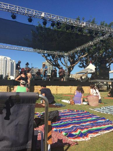 The festival was held Sept. 19 in Long Beach, Calif. and featured folk, roots, bluegrass and americana music. Credit: Emma Kolesnik/The Foothill Dragon Press