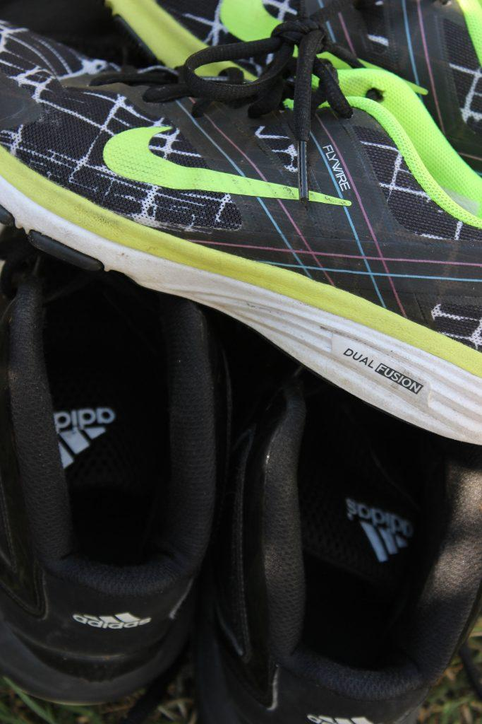 Adidas and Nike. Credit: Rachel Horiuchi/The Foothill Dragon Press