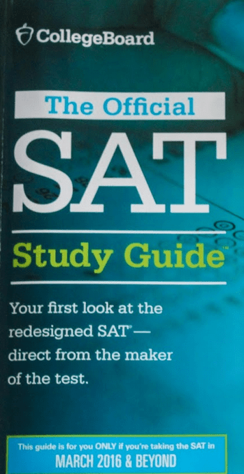 The Collegeboard, as well as a few other test preparation companies, have released prep books for the new SAT. Credit: Sarah Kagan/The Foothill Dragon Press