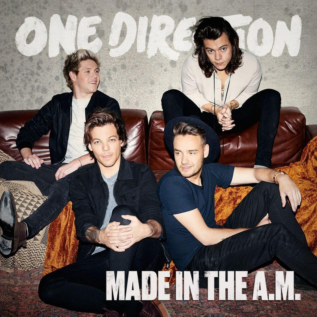"""Though the band was proud of their album, A&E writer Suvee Ranasinghe thinks """"Made in the A.M."""" is One Direction's worst album yet. Credit: Columbia Records"""