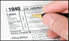 graphic IRS 1040