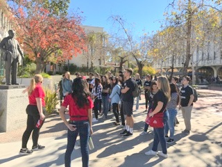 Knights in Progress visit San Diego State