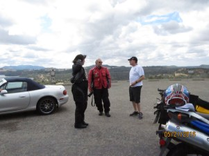 Mingling at the Observation Point