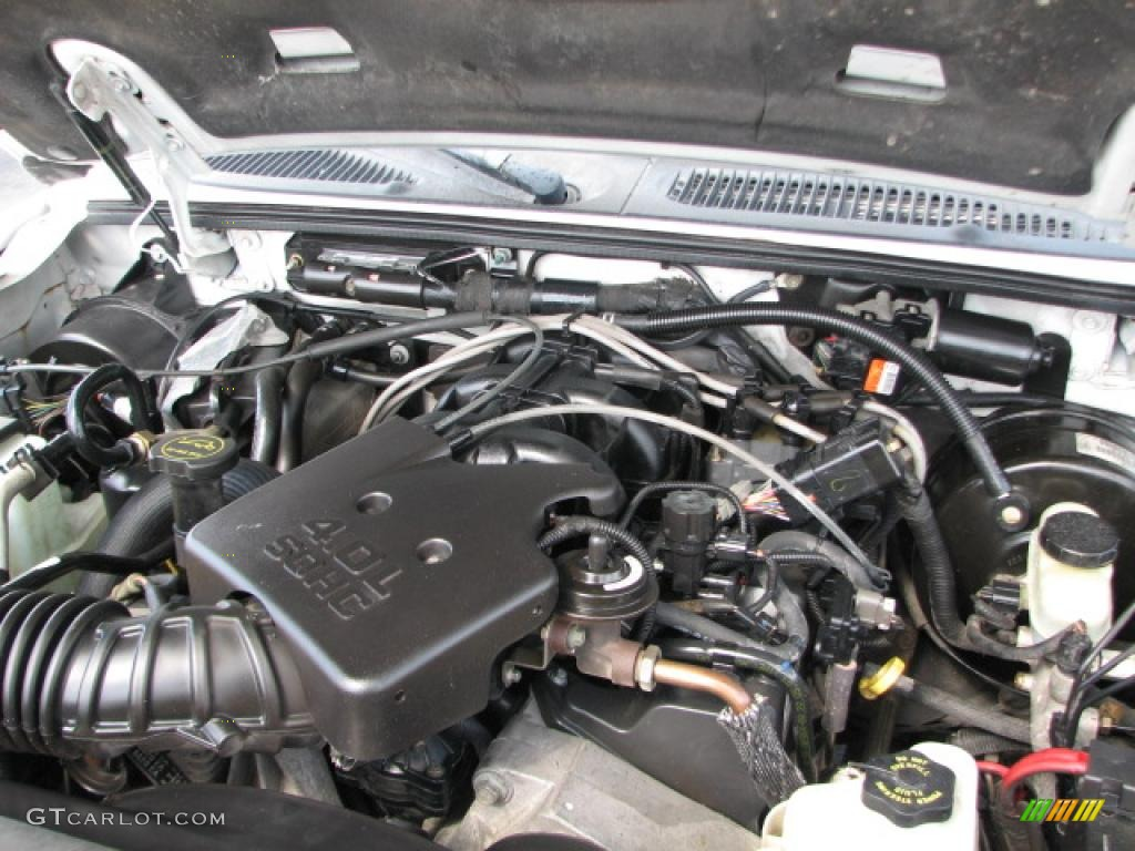 2001 Ford Taurus Engine Diagram Ford Explorer 4 0 2004 Technical Specifications Interior