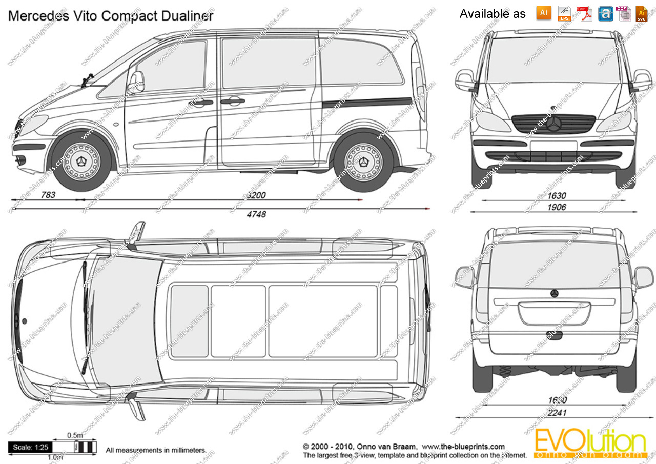 Mercedes-Benz Vito 126 2006 Technical specifications