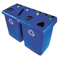 Glutton Recycling Station for Wast Receptacles