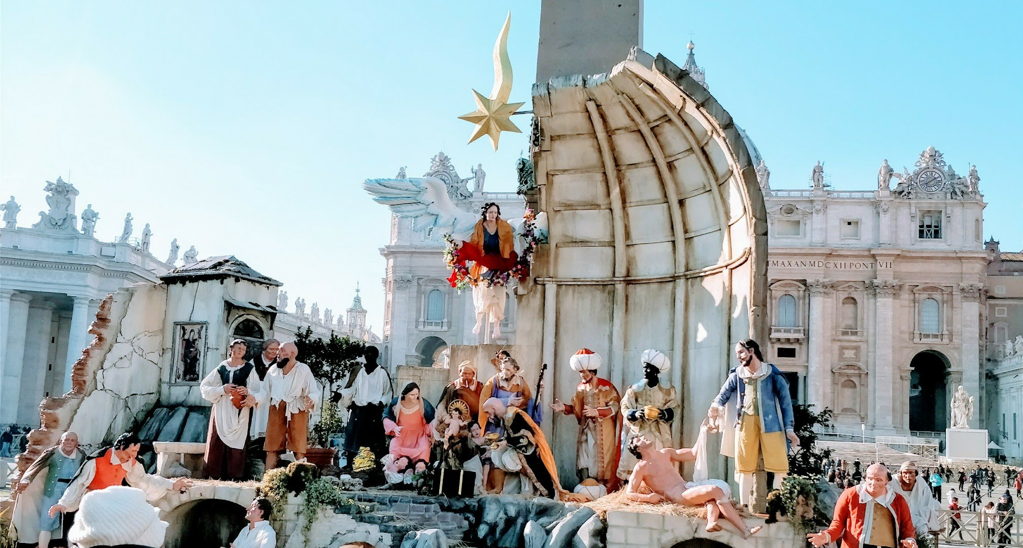 Rome during Christmas